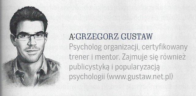 Autor Coachingu Grzegorz Gustaw