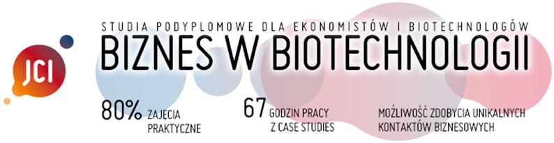 Biznes wbiotechnologii Uniwersytet Jagielloński studia podyplomowe